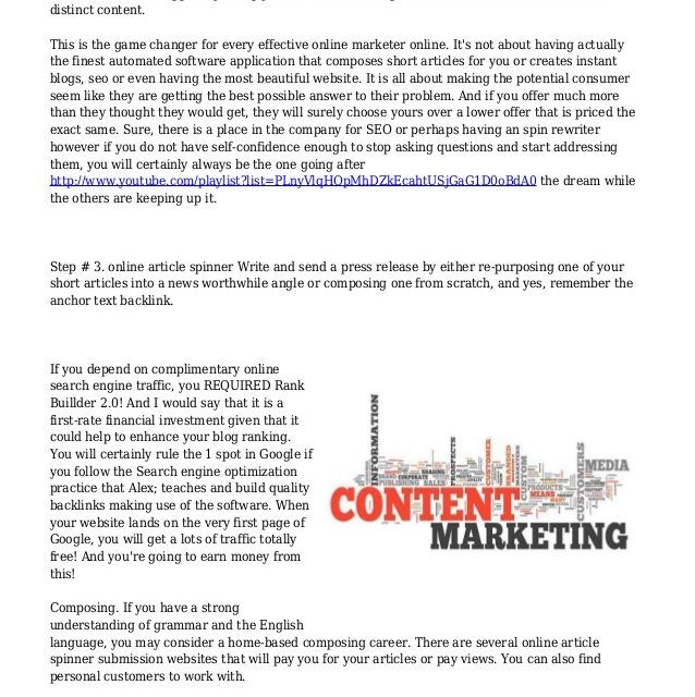 Bottom Marketing Is It The Same As Article Marketing
