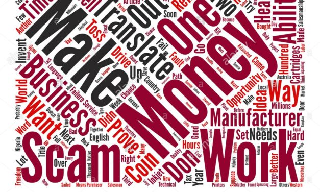 Earn Money Scams Don't Work? No … You Don't.