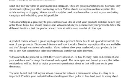 Experts Tell You How To Maximize Your Video Marketing