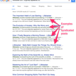 Article Syndication Tips That You Need To Know