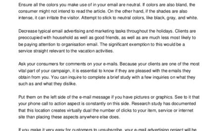 Get Good Marketing With Email Advice From These Tips