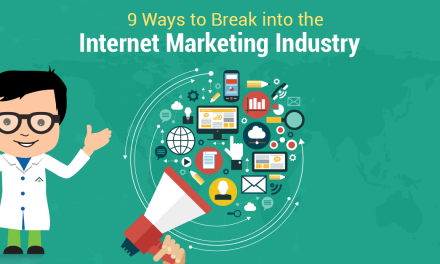 How To Break Into The Web Marketing Field
