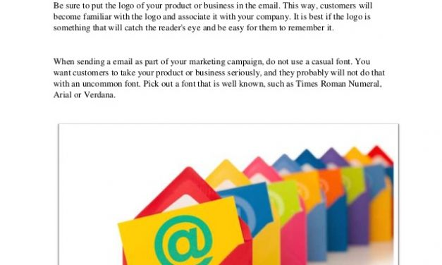 E-Mail Marketing Tips Straight From The Pros