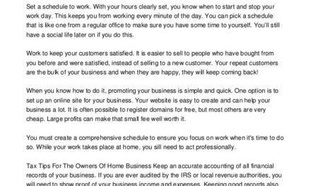 Venture Out On Your Own With A Online Business
