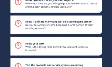 Advice That Will Improve Your Affiliate Marketing Strategies